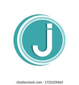 J Letter Logo Vector Icon Symbol Template. J Logo Design. Letter Logo