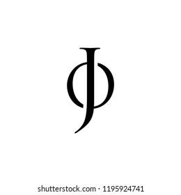 J O logo icon