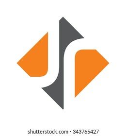 j and r logo vector.