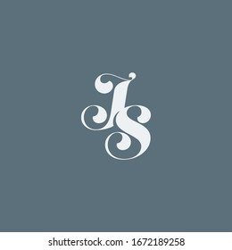 J & S monogram fashion logo.