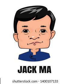 Jack Ma Chinese billionaire, philanthropist and a famous online business owner Alibaba