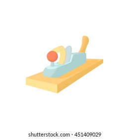 Jack plane icon in cartoon style on a white background