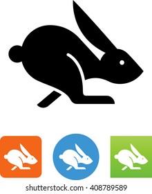 Jack rabbit icon