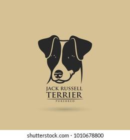 Jack Russell Terrier dog - vector illustration