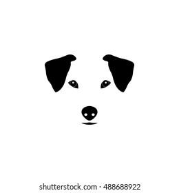 Jack Russell Terrier dog vector illustration. Purebred dog illustration. Sketch of jack russell terrier.
