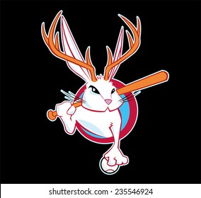 Jackalope Sports Fantasy League Logo