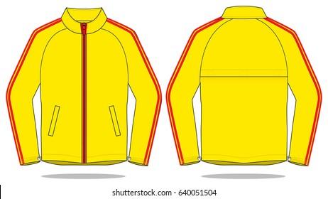 Jacket design for template