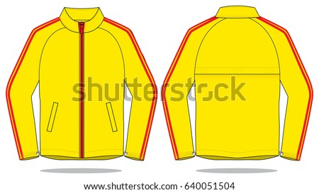 jacket design template stock vector royalty free 640051504