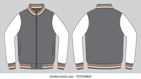 Jacket Design Vector (Three Color)