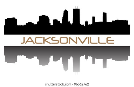 Jacksonville high-rise buildings skyline