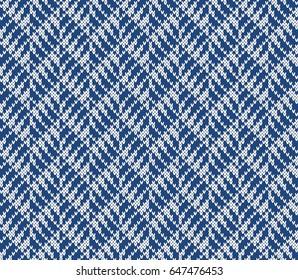 Jacquard Fairisle Seamless Knitting Pattern