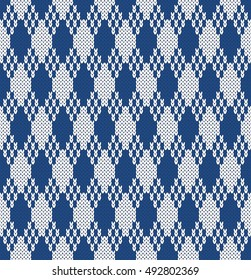 Jacquard Seamless Knitting Pattern