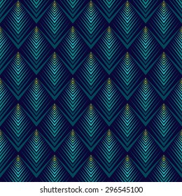 Jagged edge pattern