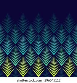 Jagged edge pattern