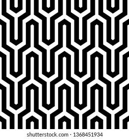 Jagged stripes motif. Seamless pattern.Linear backdrop. Geometric waves ornament. Zigzag lines background. Curves image. Digital paper, textile print, web design.