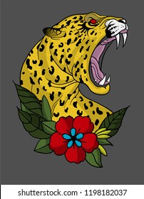 jaguar tattoo art