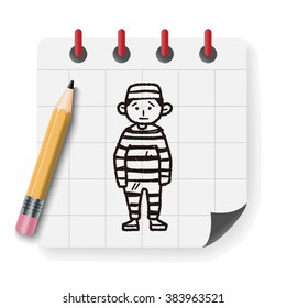 jail doodle