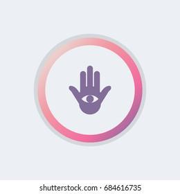 Jain sign icon.