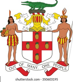 Jamaica Coat of arm