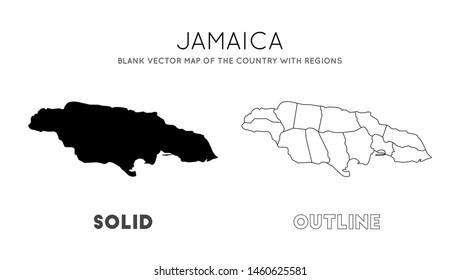 Jamaica Silhouette Images, Stock Photos & Vectors | Shutterstock