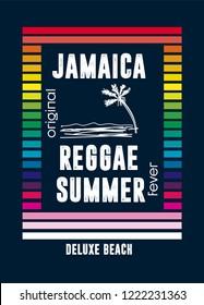 jamaica reggae summer,t-shirt design