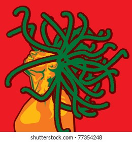 Jamaican Man Illustration