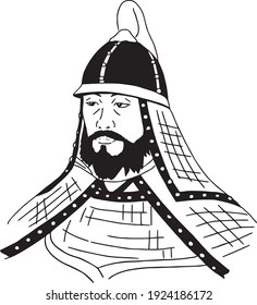 Jang Bogo, an old Korean soldier general. The Trade Prince of the Maritime Commercial Empire