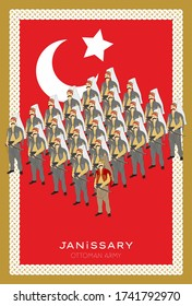 Janissary. It was established to protect the capital in the Ottoman Empire. It is the first systematic and modern army in world history.
