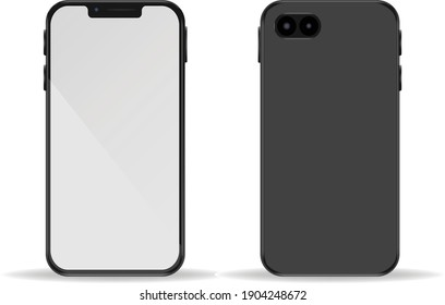 January 28 2021: Standard and neutral phone (front and back)