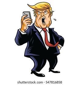January 3, 2017. Donald Trump and Social Media