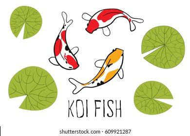 japan fish vector