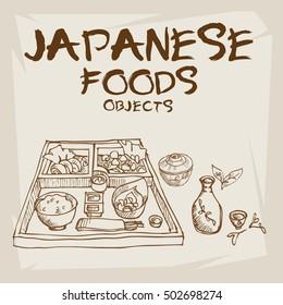 japan food bento set