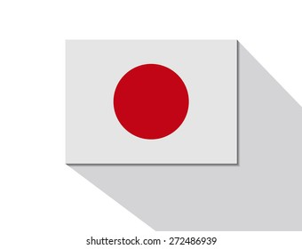 japan long shadow flag