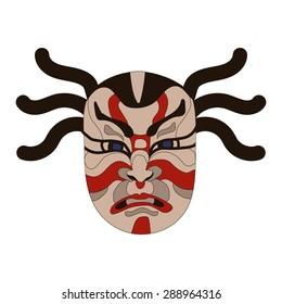 Japan Mask Kabuki