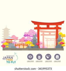 Japan Travel Background