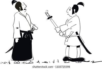 japan wariors comics