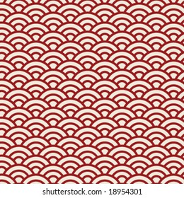 JAPANESE ASIAN PATTERN.SEAMLESS GEOMETRIC PATTER / BACKGROUND DESIGN. Modern stylish texture. Repeating and editable vector illustration file. Can be used for prints, textiles, website blogs etc.