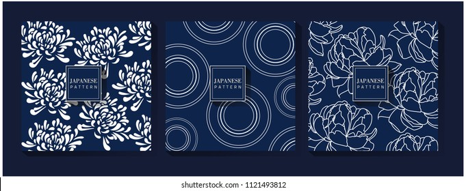 Japanese Blue Pattern