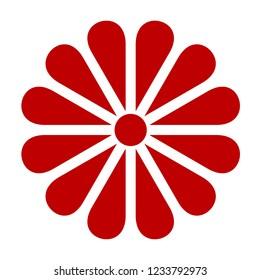 japanese chrysanthemum icon