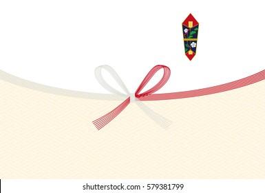 Japanese envelope paper.