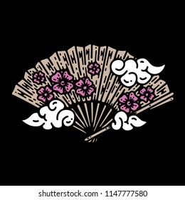 Japanese fan vector file