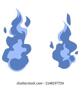 Japanese Fireball blue