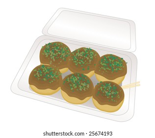 japanese food takoyaki