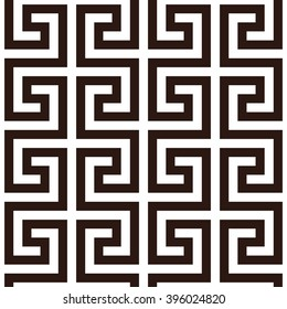 Japanese fret key pattern seamless vector background tile