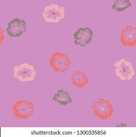 Japanese Hibiscus Pattern