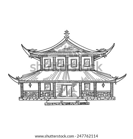 The Byodo In Temple Coloring Pages