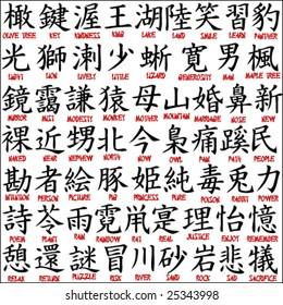 Kanji Symbols Images, Stock Photos & Vectors   Shutterstock