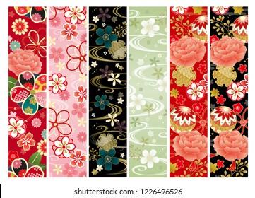japanese kimono set
