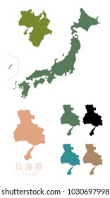 Japanese map and geography