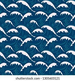 Japanese Ocean Pattern